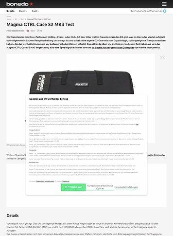 Bonedo.de Magma CTRL Case S2 MK3