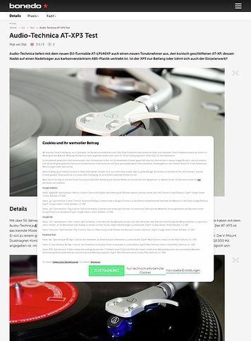 Bonedo.de Audio-Technica AT-XP3