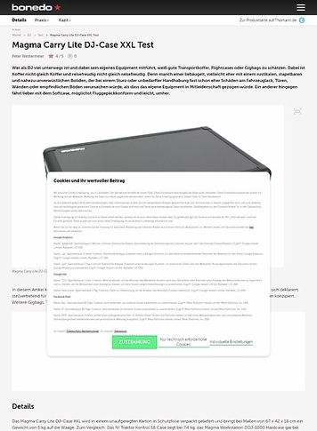 Bonedo.de Magma Carry Lite DJ-Case XXL