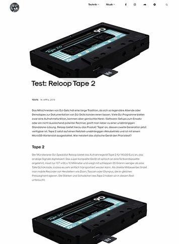 DJLAB Reloop Tape 2