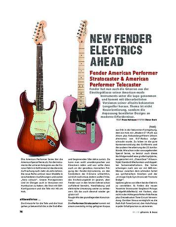 Gitarre & Bass Fender American Performer Stratocaster & American Performer Telecaster