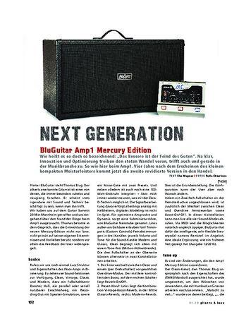 Gitarre & Bass BluGuitar Amp1 Mercury Edition