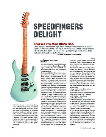 Gitarre & Bass Charvel Pro-Mod DK24 HSS