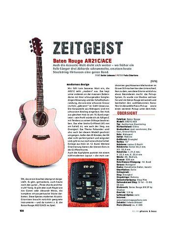 Gitarre & Bass Baton Rouge AR21C/ACE