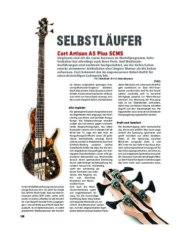 Gitarre & Bass Cort Artisan A5 Plus SCMS