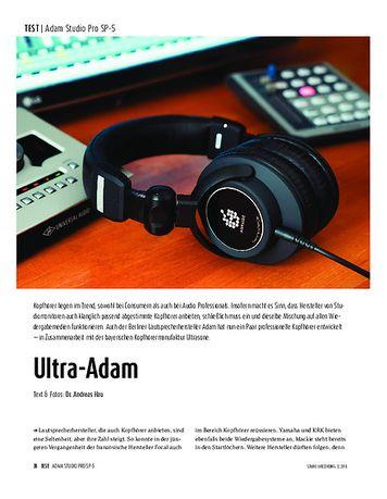 Sound & Recording Adam Audio Studio Pro SP-5