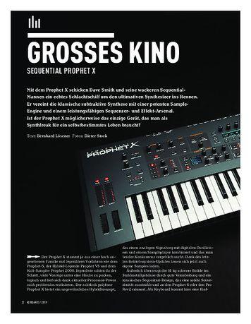 Keyboards Sequential Prophet X