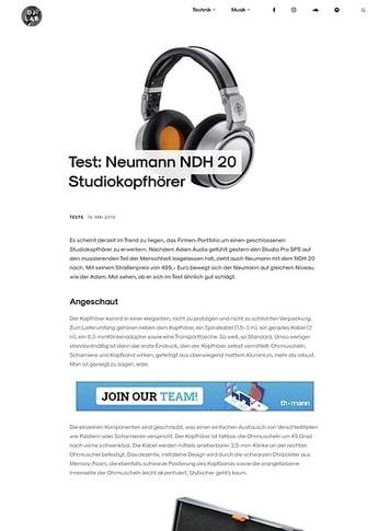 DJLAB Neumann NDH 20