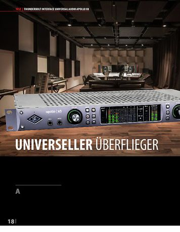 Professional Audio Universal Audio Apollo x8