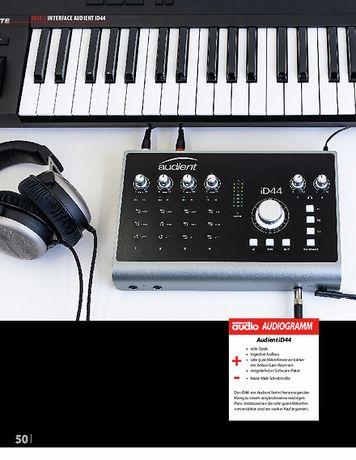 Professional Audio Audient iD44