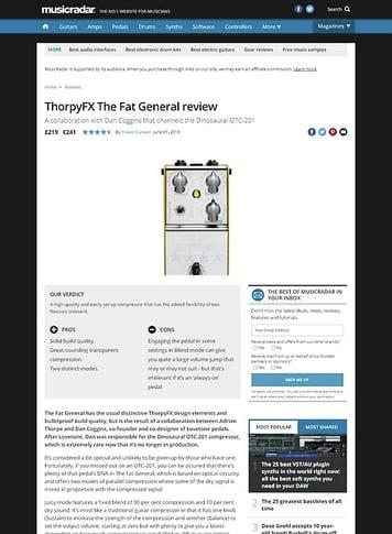 MusicRadar.com ThorpyFX The Fat General