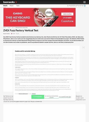 Bonedo.de ZVEX Fuzz Factory Vertical