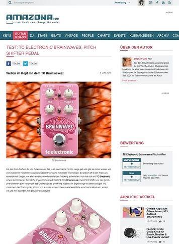 Amazona.de TC Electronic Brainwaves