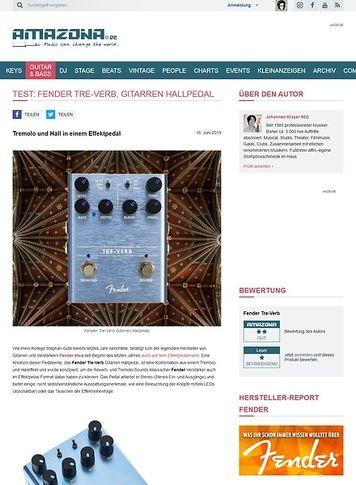 Amazona.de Fender Tre-Verb
