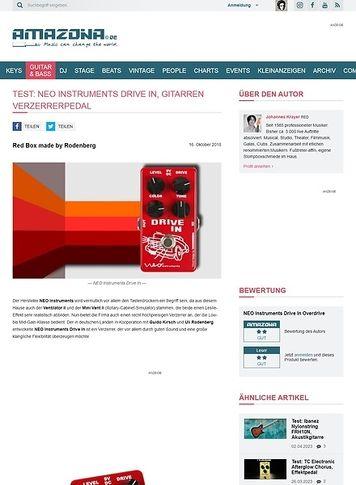 Amazona.de NEO Instruments Drive In