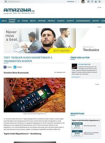 Amazona.de Tegeler Audio Manufaktur Magnetismus 2