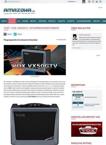 Amazona.de VOX VX50GTV