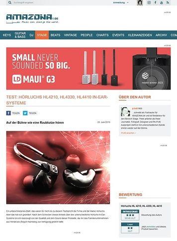 Amazona.de Hörluchs HL4210, HL4330, HL4410