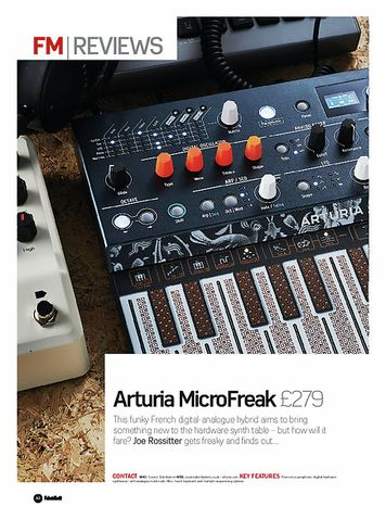 Future Music Arturia MicroFreak