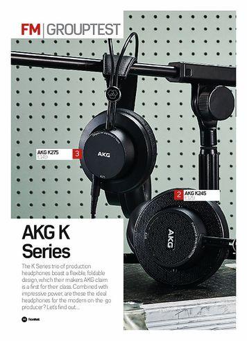 Future Music AKG K175