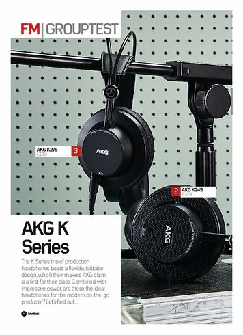 Future Music AKG K275