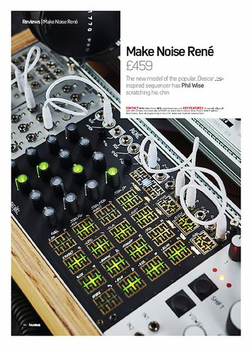 Future Music Make Noise Rene