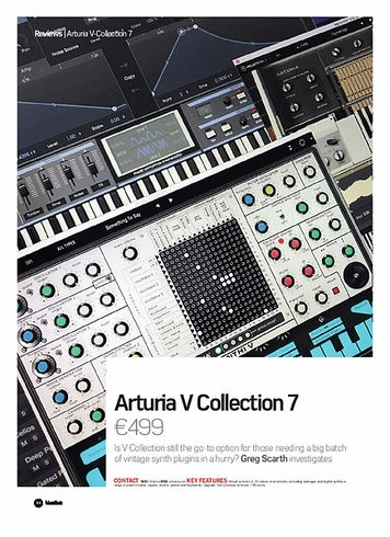 Future Music Arturia V collection 7