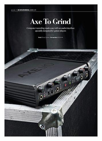 Guitarist IK Multimedia AXE I/o