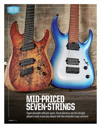 Total Guitar Jackson Pro Series Signature Misha Mansoor Juggernaut HT7