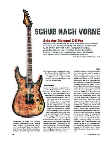 Gitarre & Bass Schecter Diamond C-6 Pro