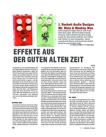 Gitarre & Bass Rocket Audio Mr. Moto & Monkey Man