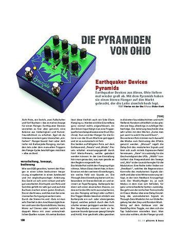 Gitarre & Bass Earthquaker Devices Pyramids