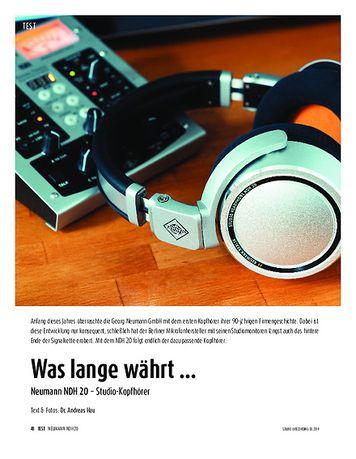 Sound & Recording Neumann NDH 20