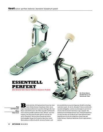 Sticks Sonor Perfect Balance Standard Pedal