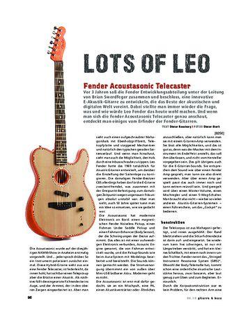 Gitarre & Bass Fender Acoustasonic Telecaster
