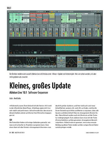 Sound & Recording Ableton Live 10.1 - Software-Sequenzer