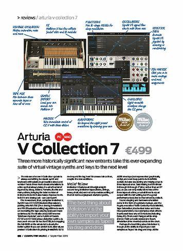 Computer Music Arturia V Collection 7