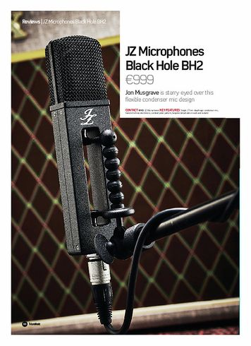 Future Music JZ Microphones Black Hole BH2