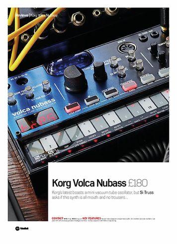 Future Music Korg Volca Nubass