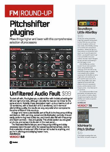 Future Music KiloHearts Pitch Shifter