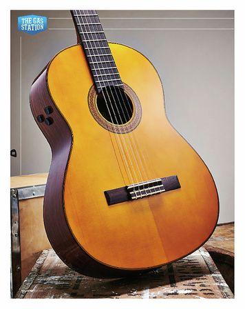 Total Guitar Yamaha CG-TA Transacoustic