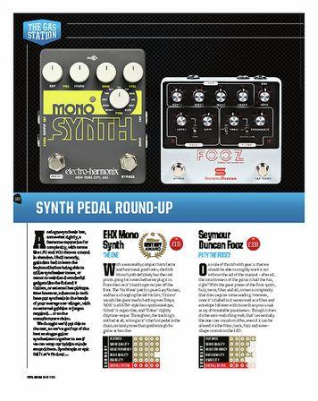 Total Guitar Electro Harmonix Mono Synth
