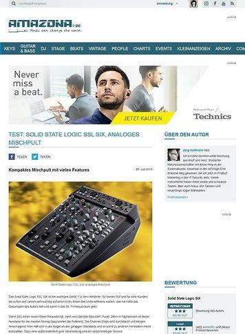 Amazona.de Solid State Logic SSL SiX