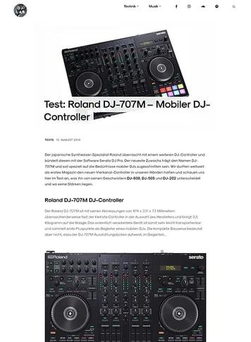 DJLAB Roland DJ-707M