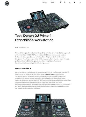 DJLAB Denon DJ Prime 4