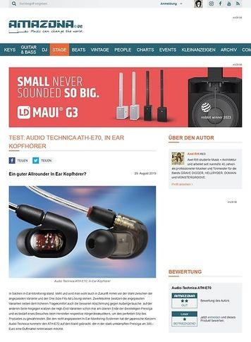 Amazona.de Audio Technica ATH-E70