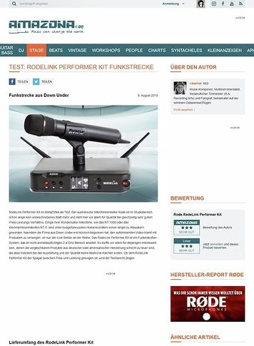 Amazona.de RodeLink Performer Kit