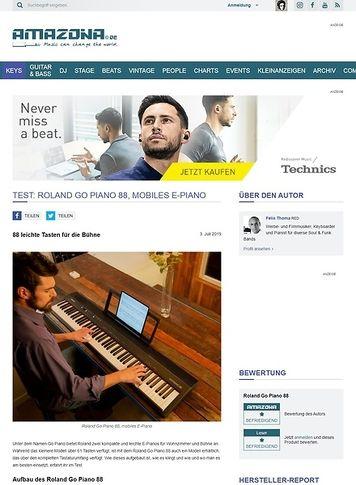 Amazona.de Roland Go Piano 88