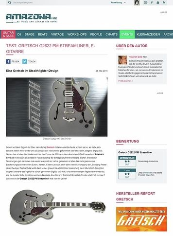 Amazona.de Gretsch G2622 PM Streamliner