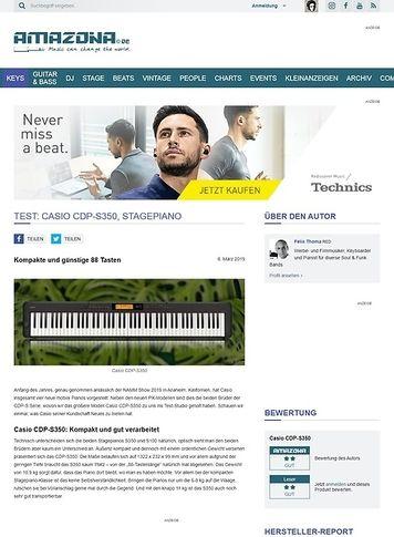 Amazona.de Casio CDP-S350